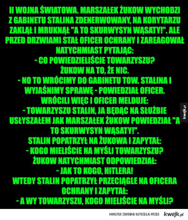 rozmowa ze Stalinem