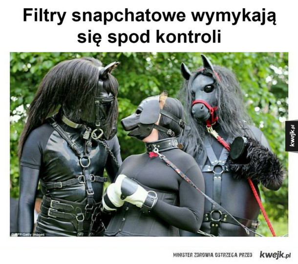 Filtry snapchatowe