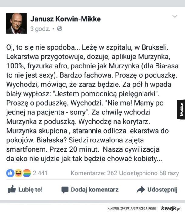 Pan Janusz jak zawsze w formie