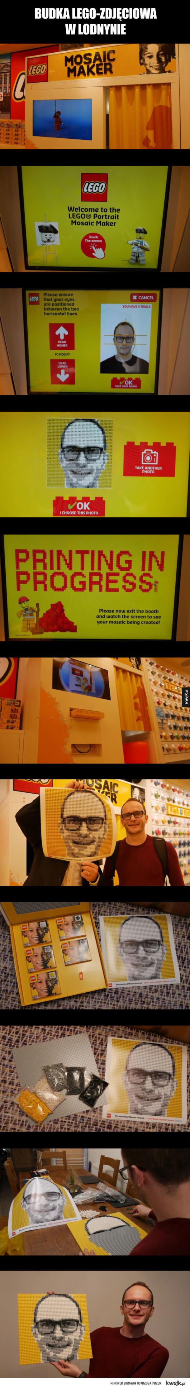 Budka Lego-zdjęciowa