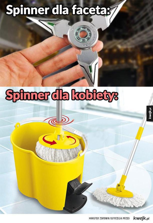 Spinner dla kobiety