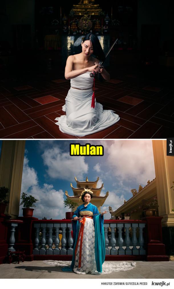 Księżniczki Disneya po latach, już jako królowe