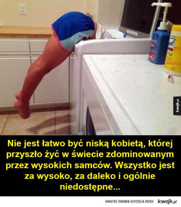 Problemy niskich kobiet