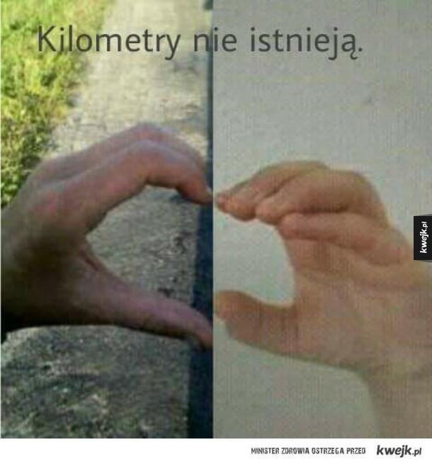 Kilometry nie istnieją