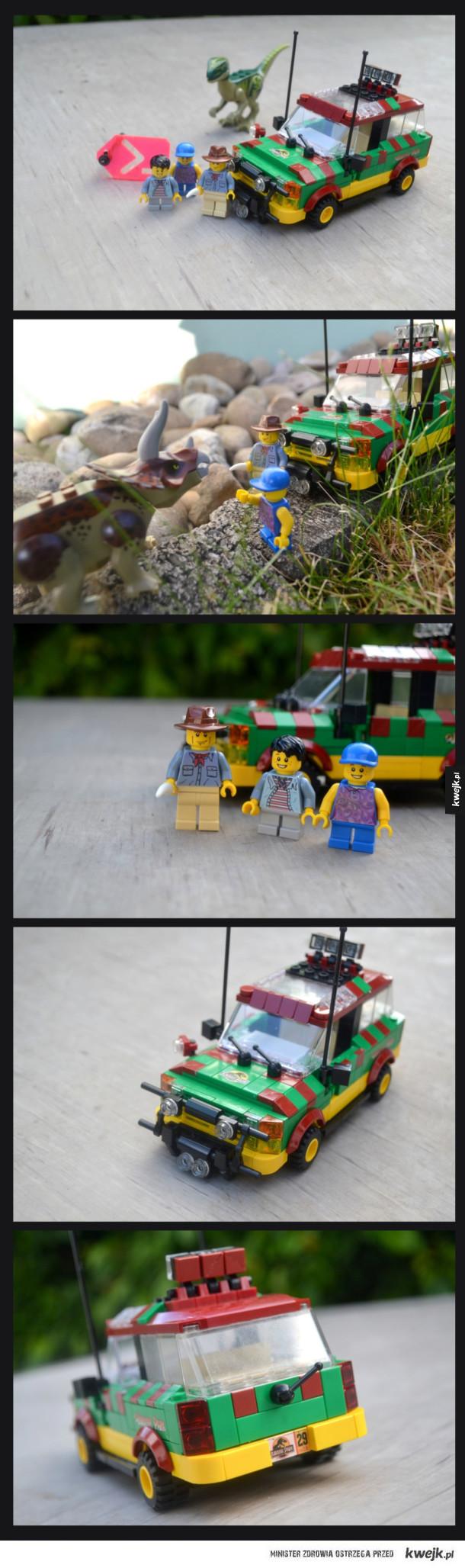 Jurassic park wersja lego