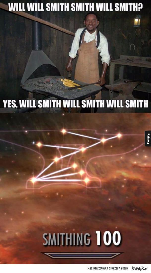 Will Smith, smith ?