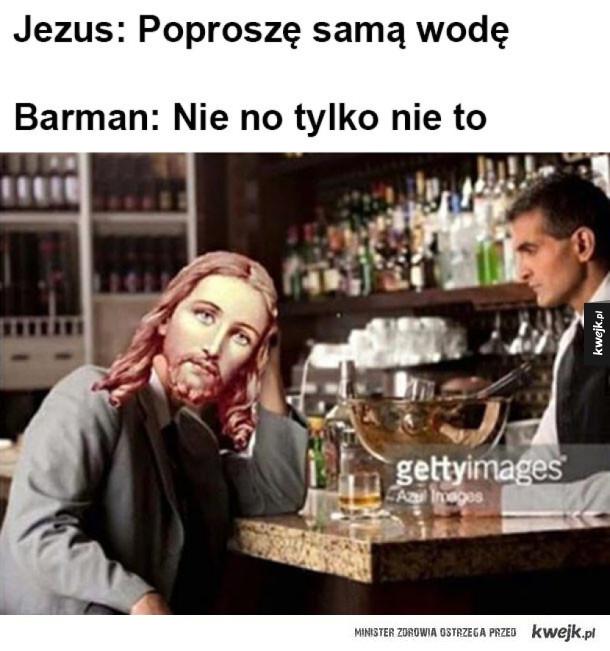 Typowy trik Jezusa