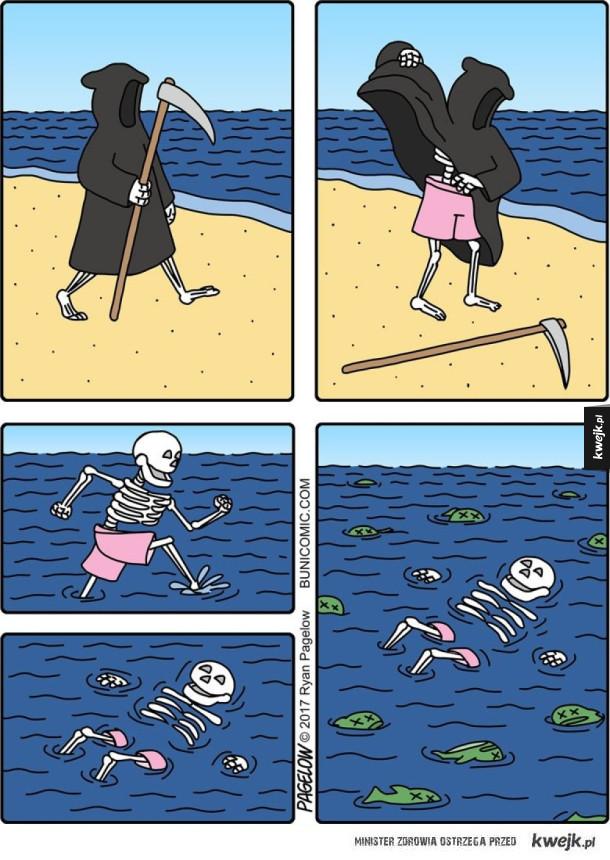 Śmierć na wakacjach