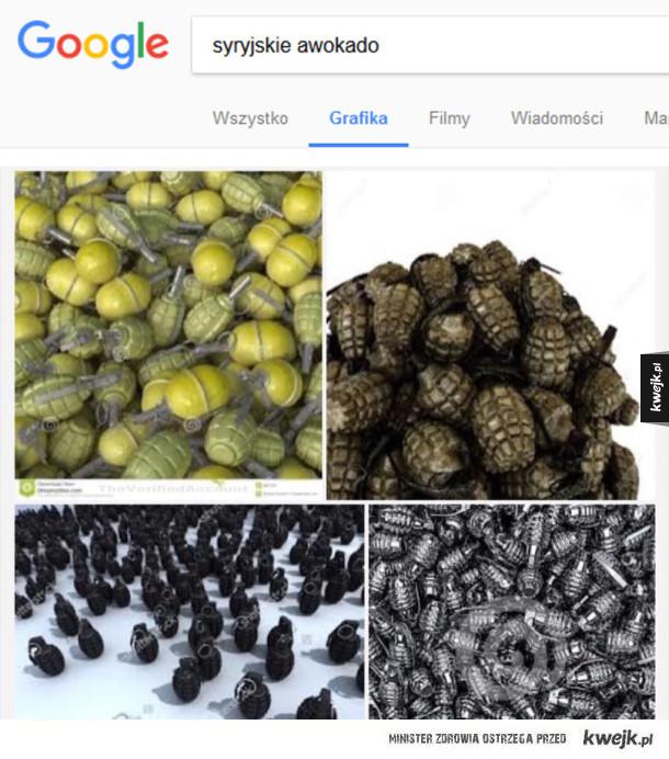 Pyszne owoce z Syrii