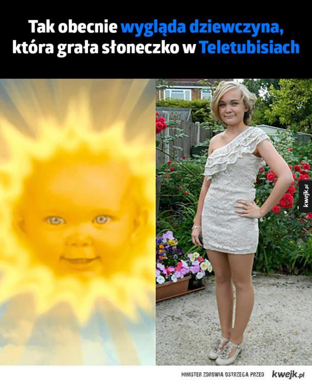 Słoneczko w teletubisiach
