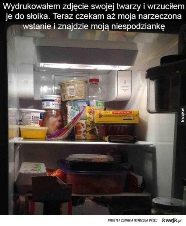 Upiorna niespodzianka w lodówce