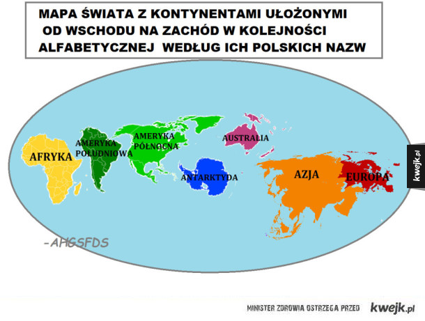 Ważna mapa świata