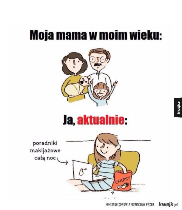 Moja mama vs ja