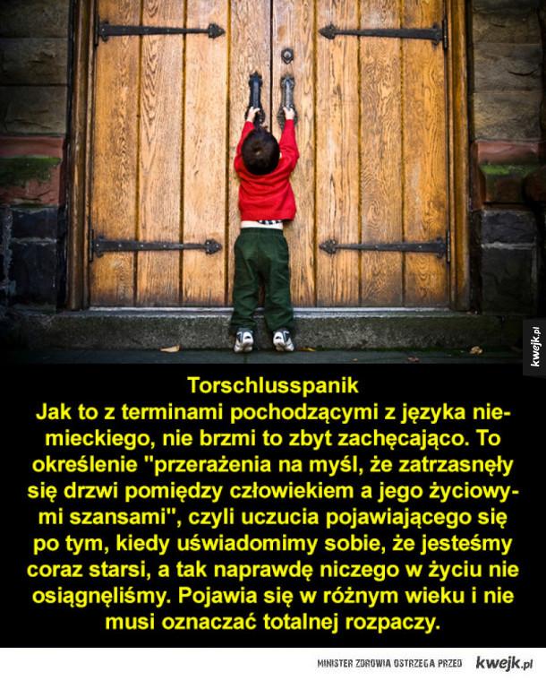 Dobrze znane uczucia, które nie mają określeń w języku polskim
