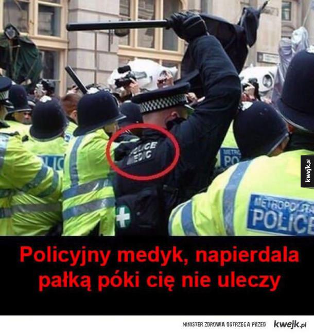dobry ziomek policjant