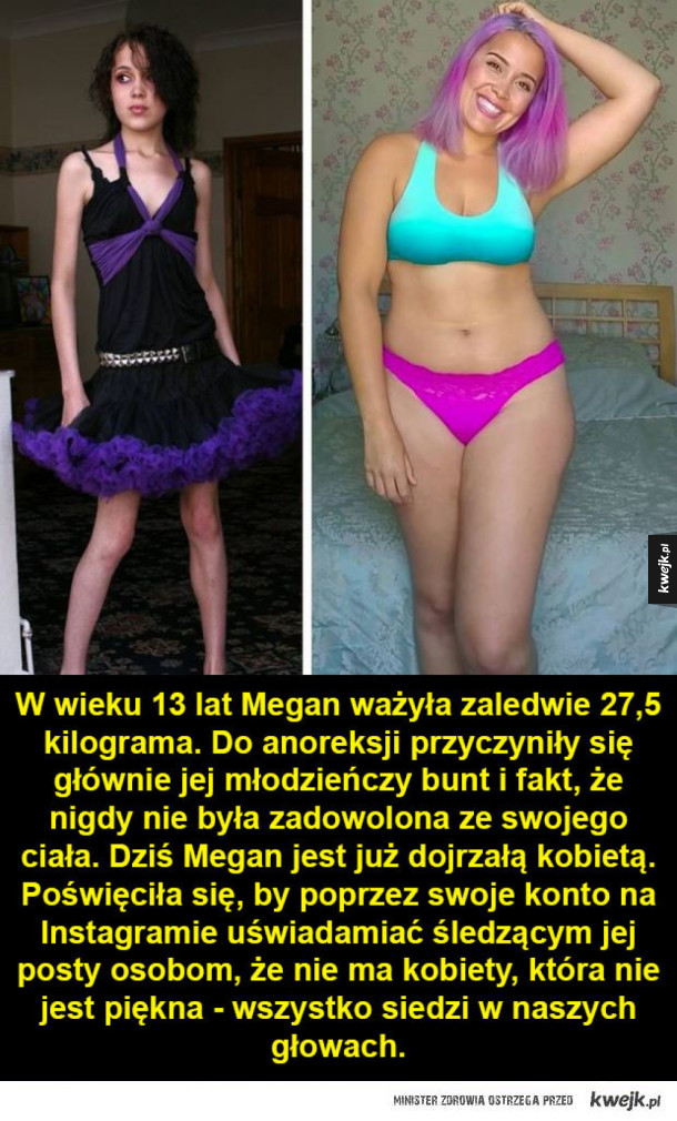 Kobiety, które są wdzięczne za każdy kilogram swojego ciała