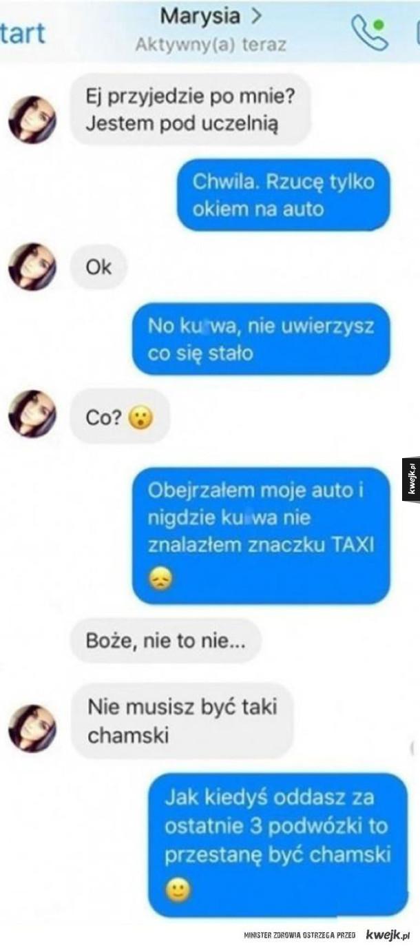 prywatny uber