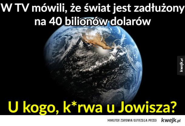 Zadłużenie świata