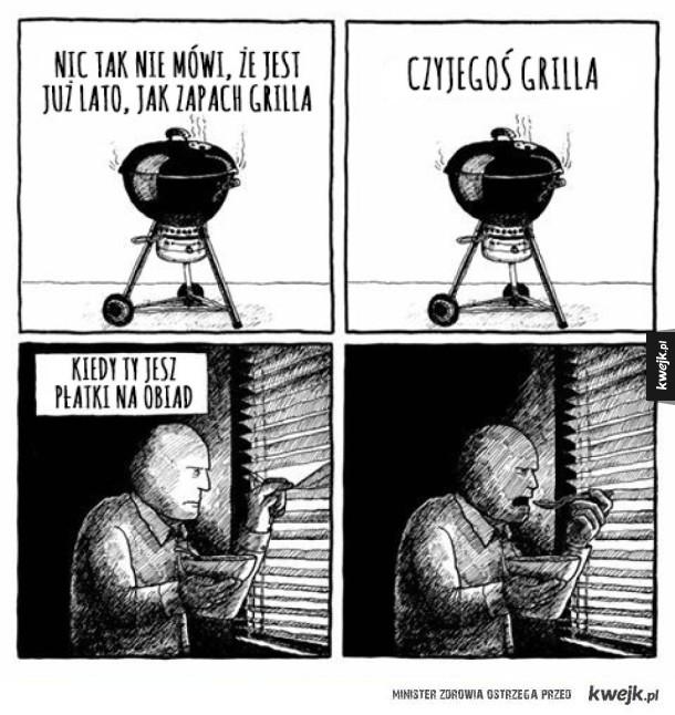 Zapach grilla