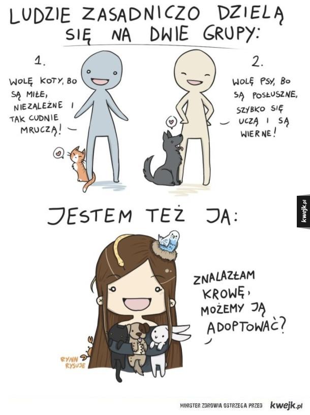 Miłośnicy zwierząt
