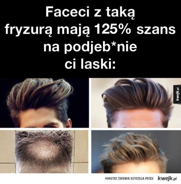Faceci z taką fryzurą