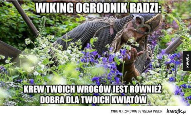 wiking ogrodnik