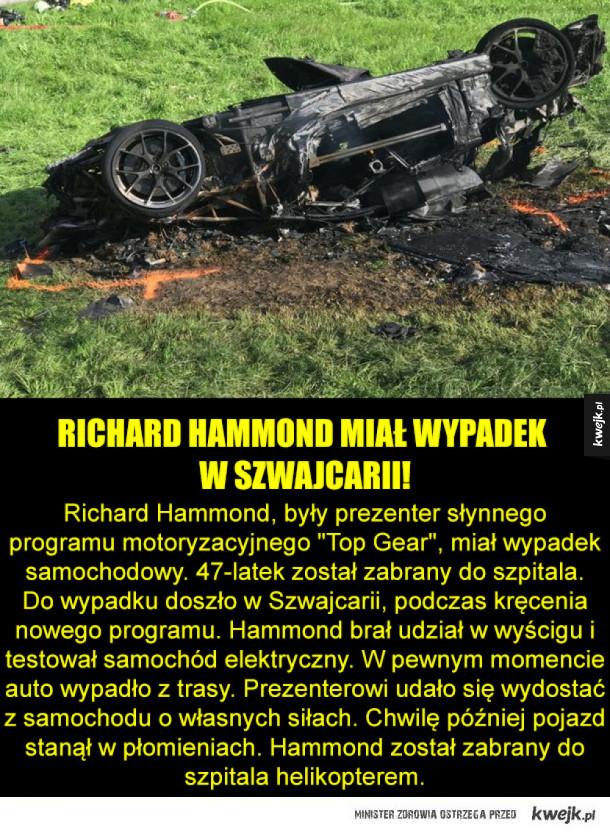 Wypadek byłego prezentera Top Gear!