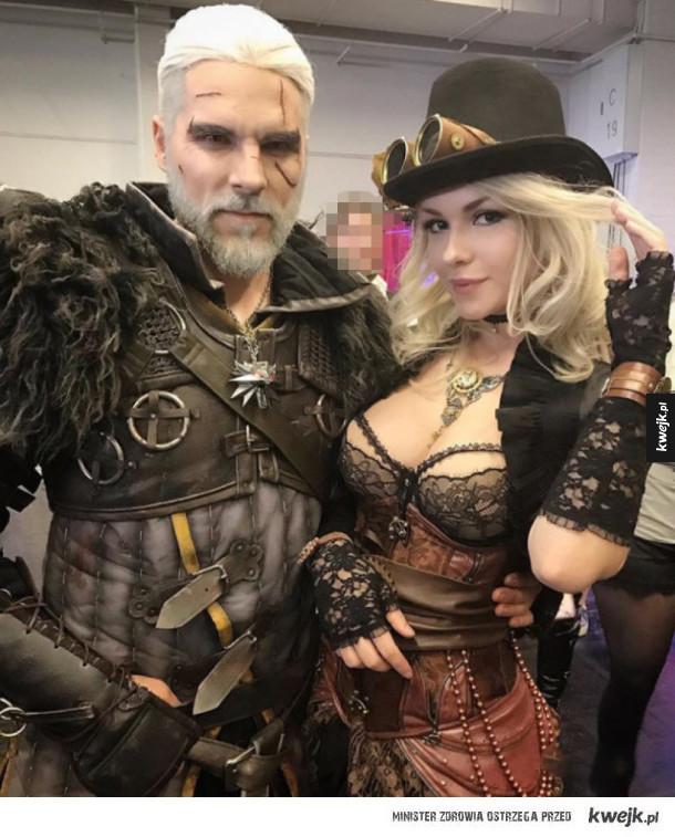 niesamowity cosplay