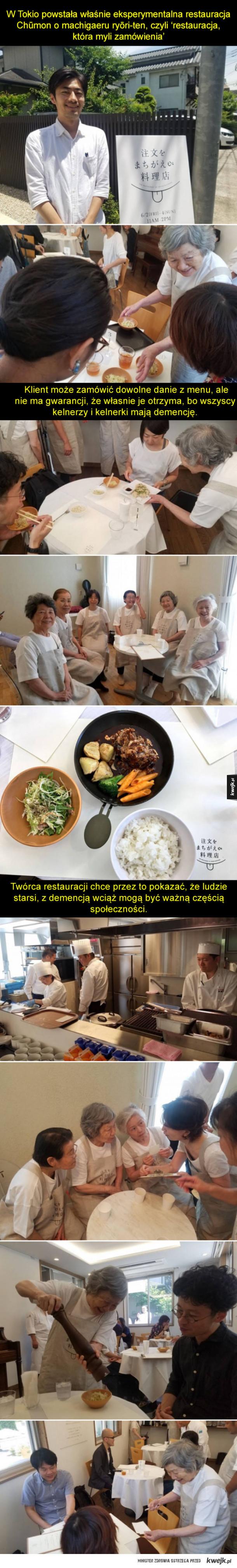 Wzruszająca inicjatywa w japońskiej restauracji