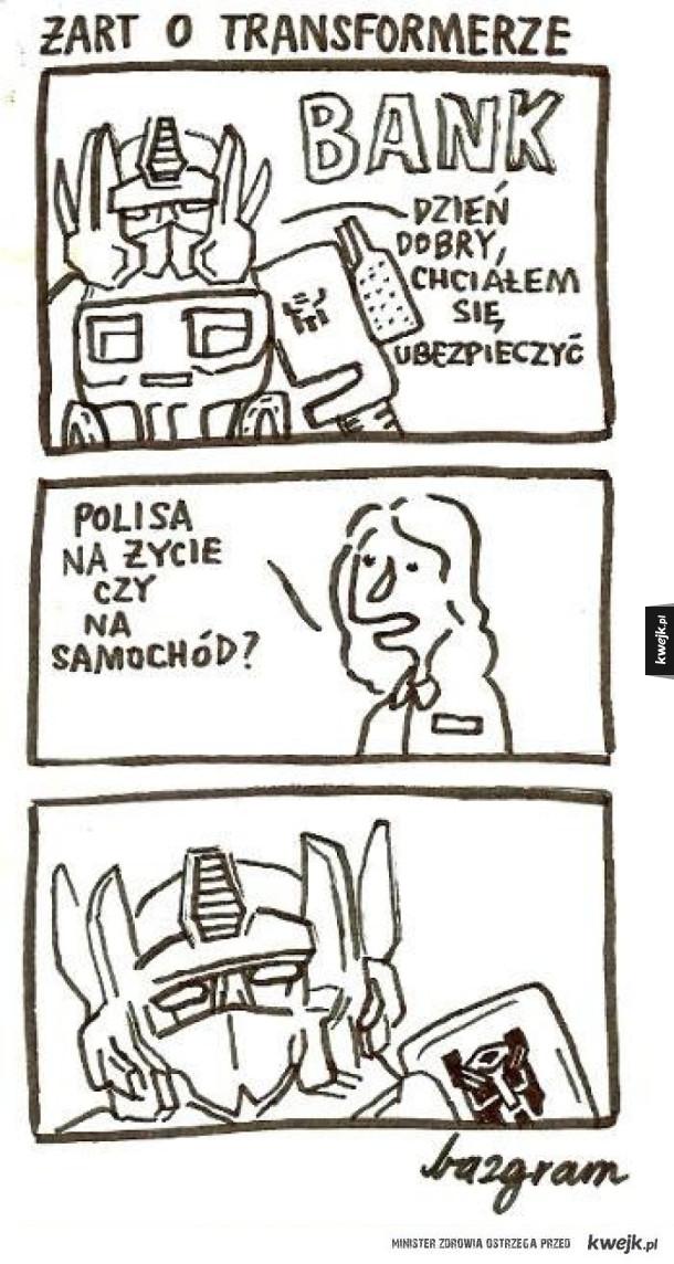 Problemy Transformersów