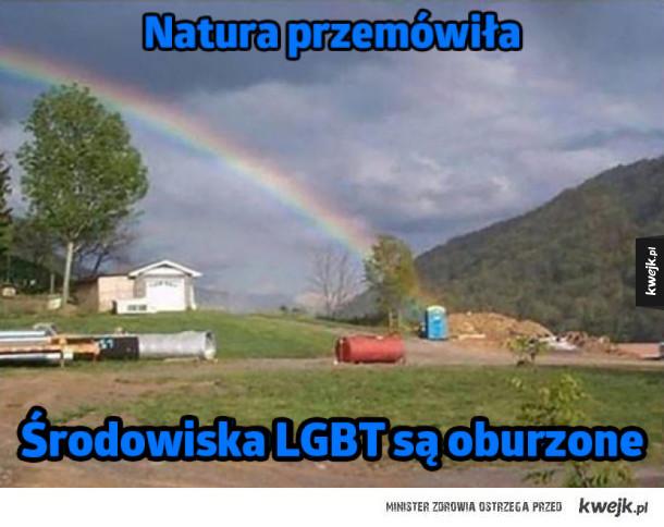 Natura przemówiła!