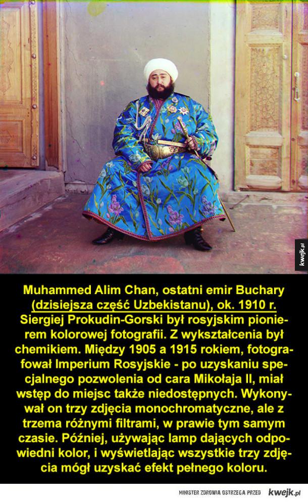 Kolorowe zdjęcia z Imperium Rosyjskiego autorstwa Siergieja Prokudina-Gorskiego