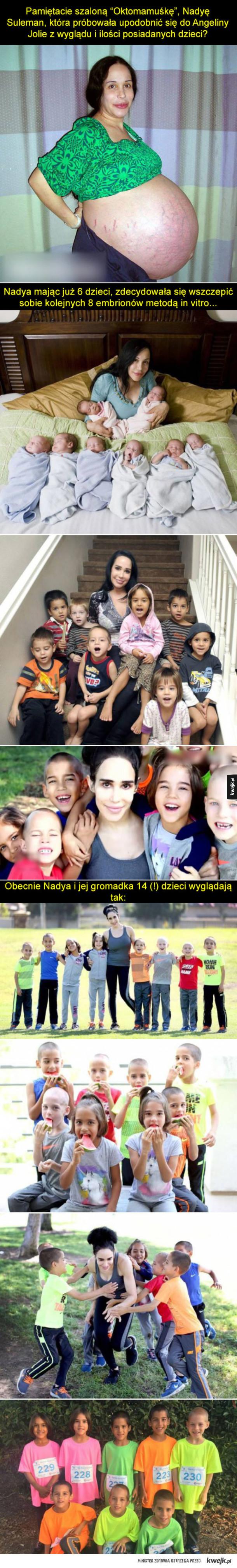 Tak dziś wygląda Oktomama i jej dzieciaki