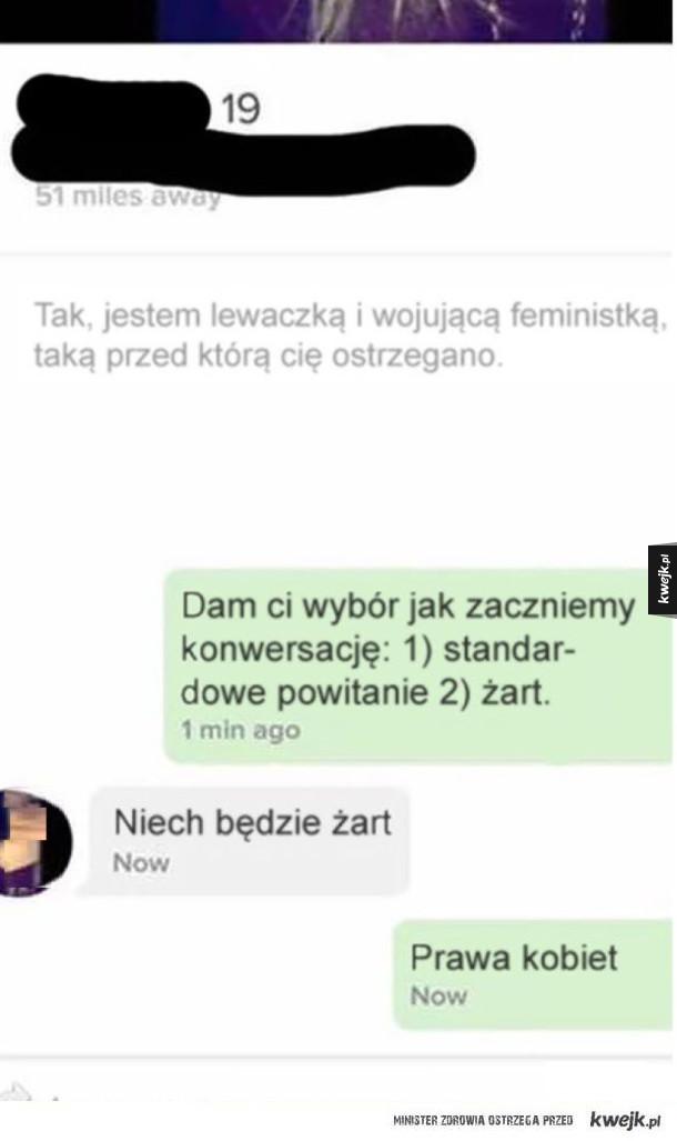 Podrywanie feministki