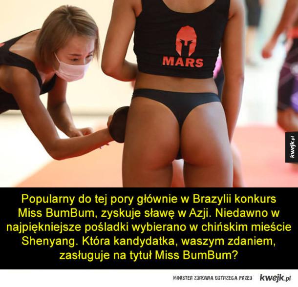 Miss BumBum, czyli najlepsze pośladki w Chinach