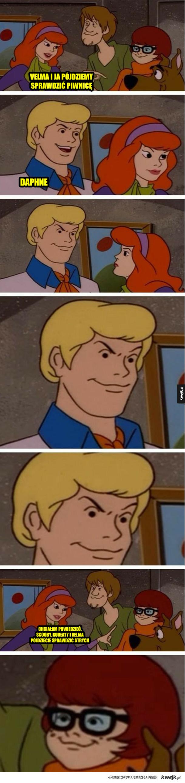 Gdzie jesteś Scooby-doo...