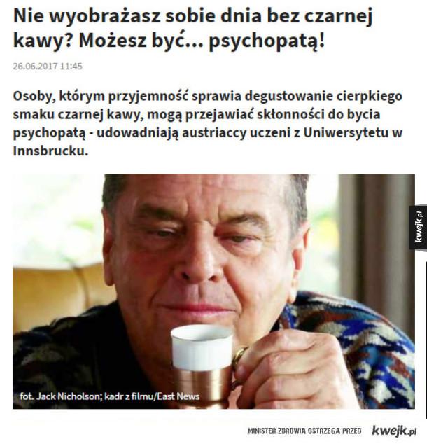 A wy ile kaw już dziś wypiliście?