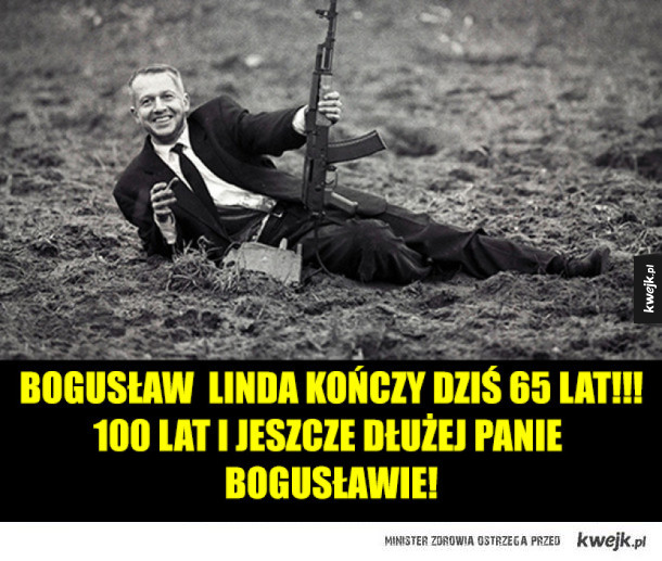 Bogusław Linda kończy dziś 65 lat!