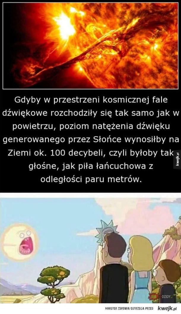 Głośne słońce