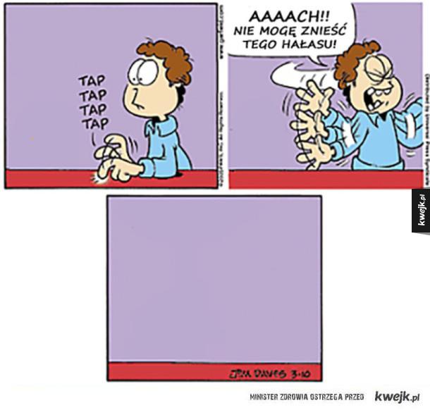 'Garfield minus Garfield' to naprawdę dziwny komiks
