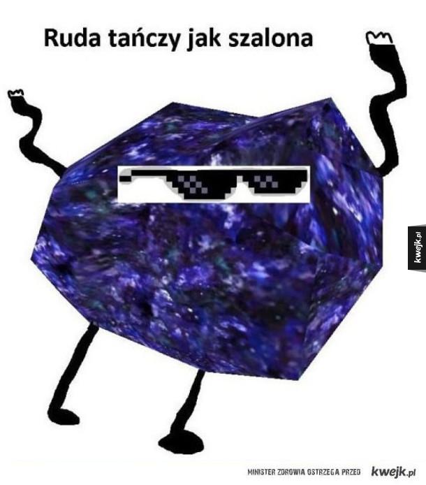 Ruda tańczy jak szalona