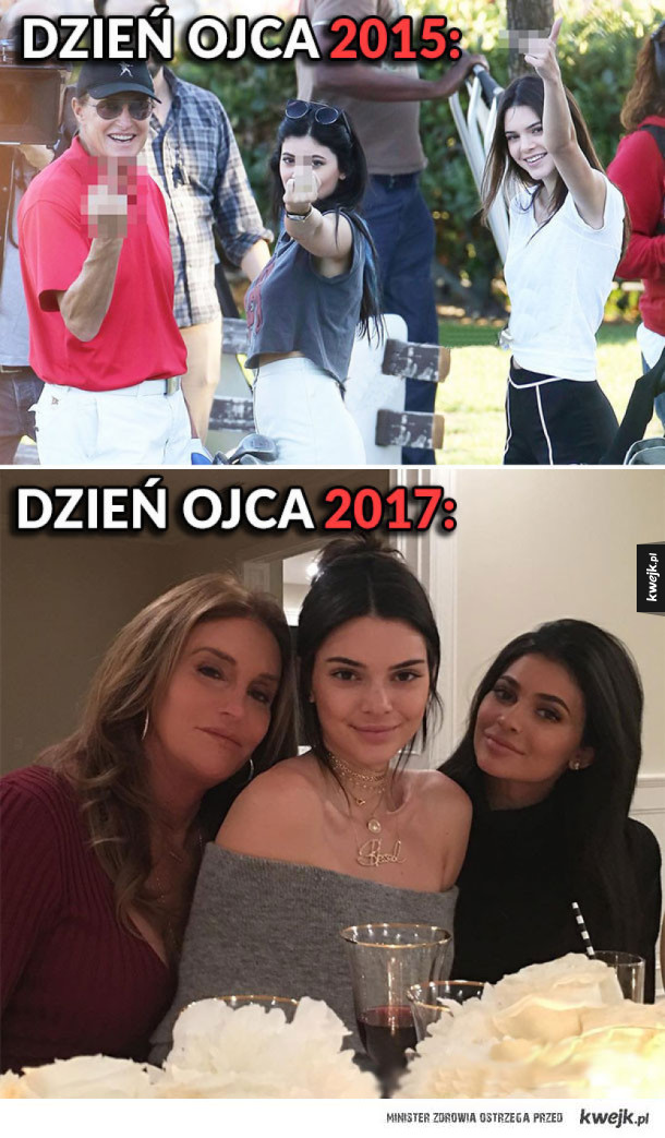 Dzień ojca u Kardashianów