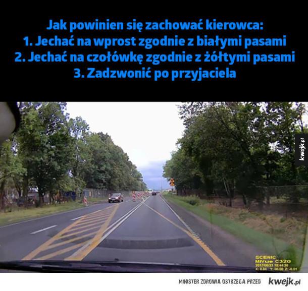 Zagadka dla kierowców