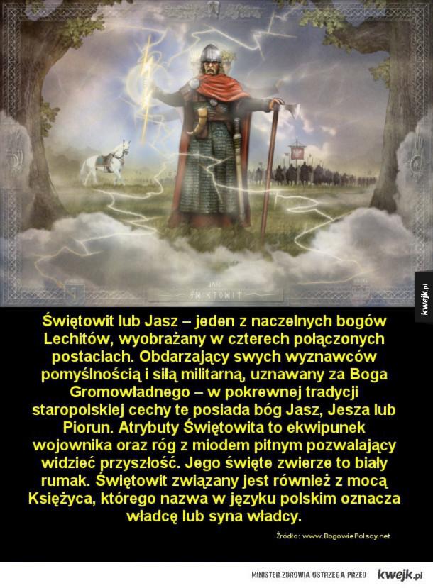 Dawni polscy bogowie na ilustracjach Kazimierza Perkowskiego