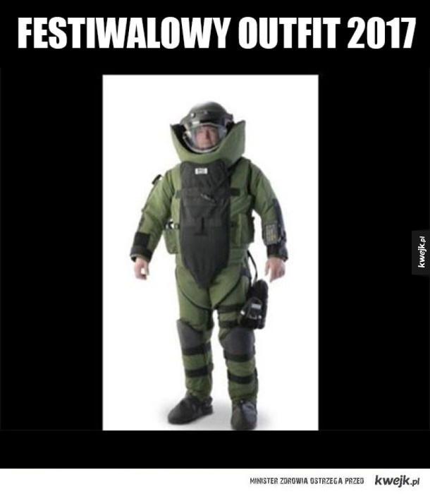 Ubranie na festiwale