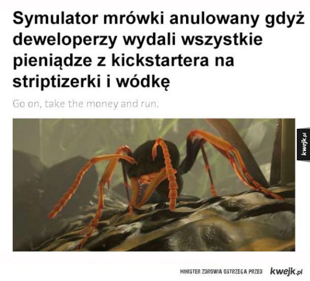 Symulator mrówki