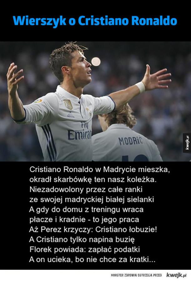 Wierszyk o Ronaldo