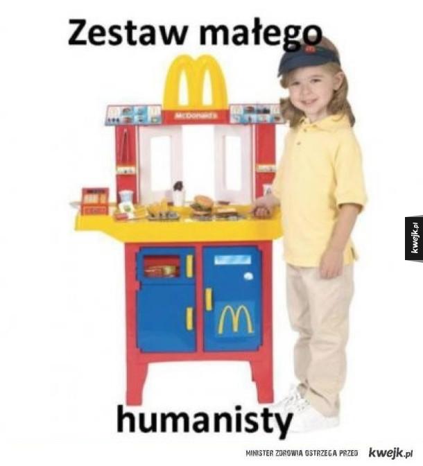 Zestaw małego humanisty