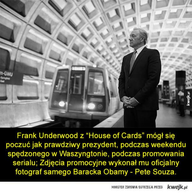 Frank Underwood w obiektywie prezydenckiego fotografa