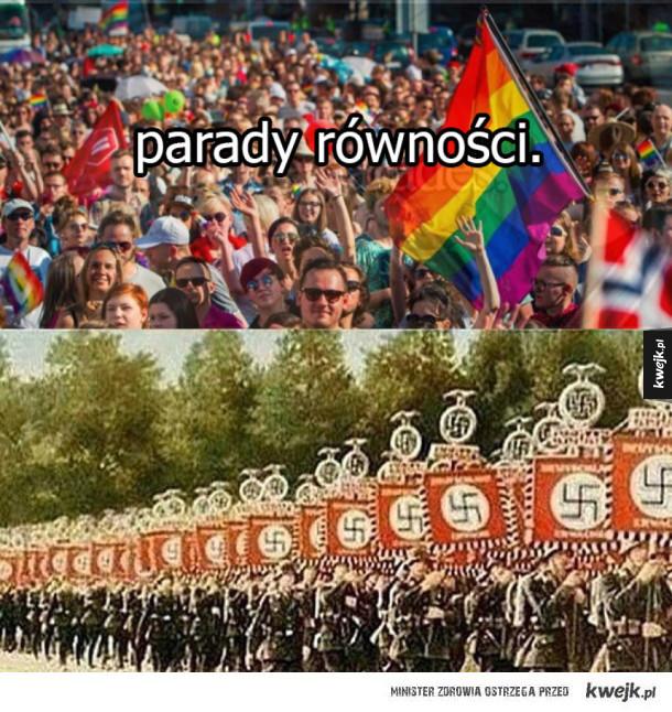 Parady równości